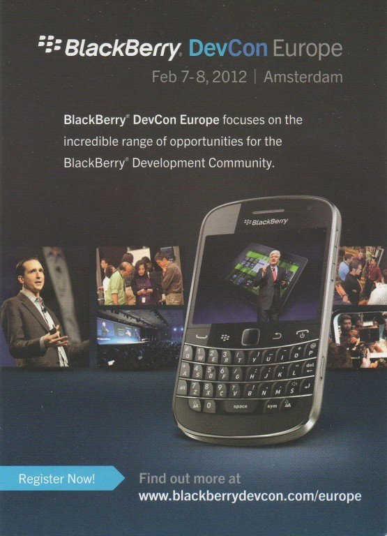 Blackberry Developer Conference